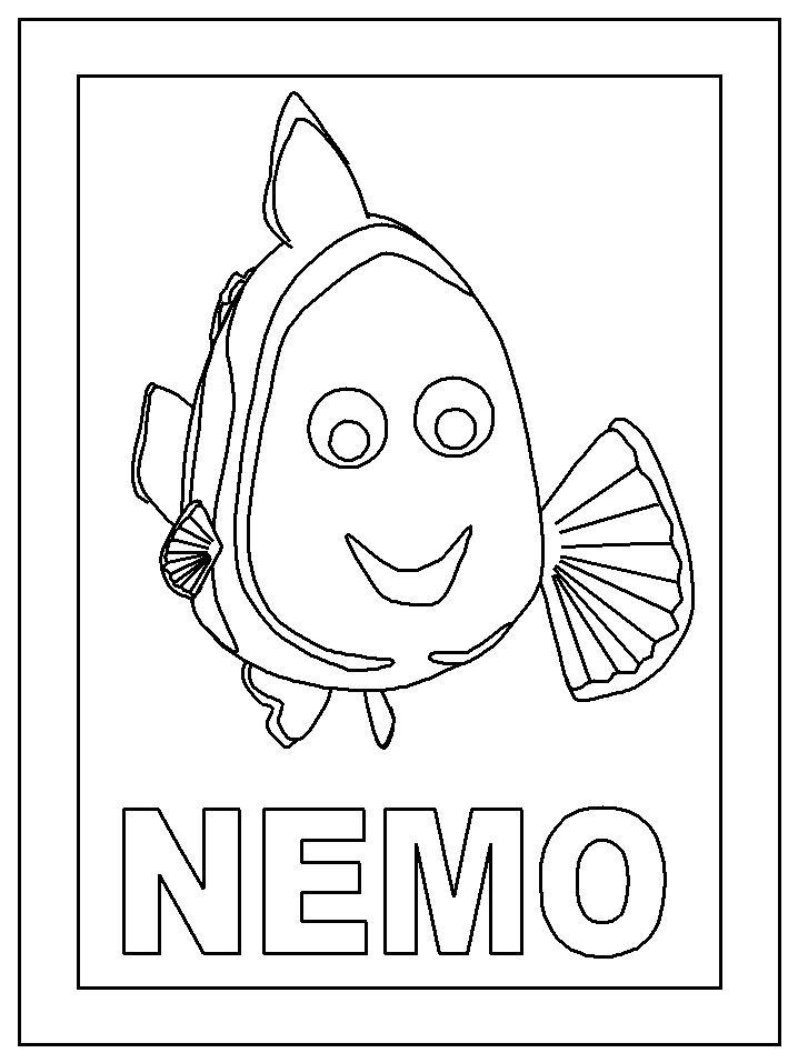 Ausmalbild Nemo