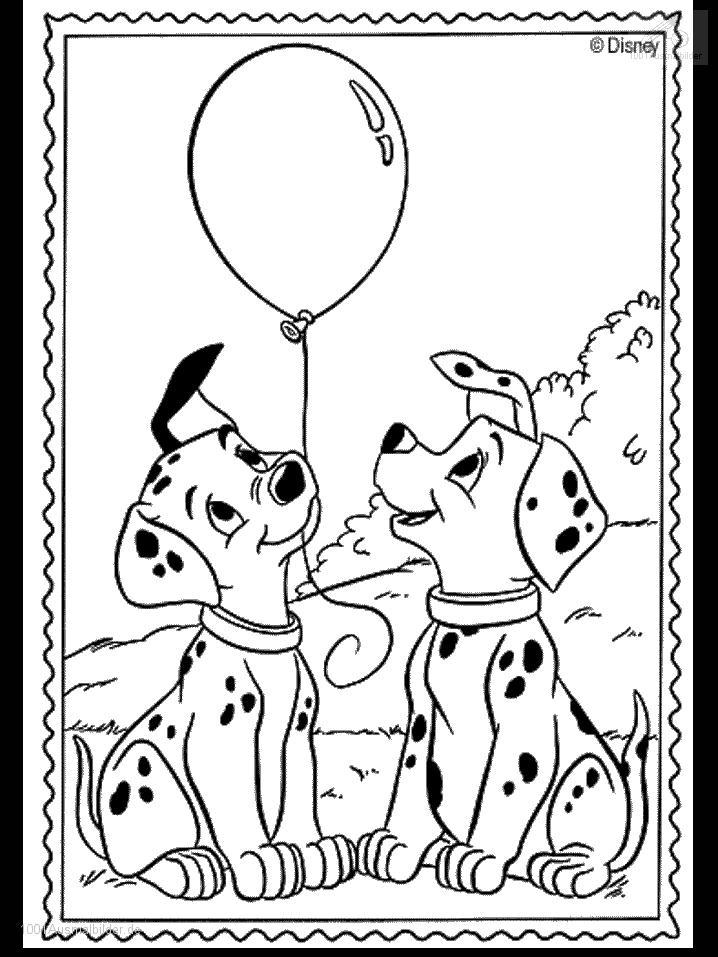 Ausmalbild: ausmalbild-dalmatiner-8