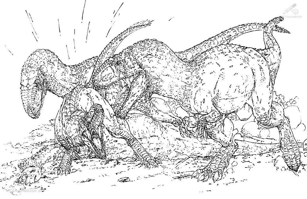 Ausmalbild: ausmalbild-dinosaurier-5