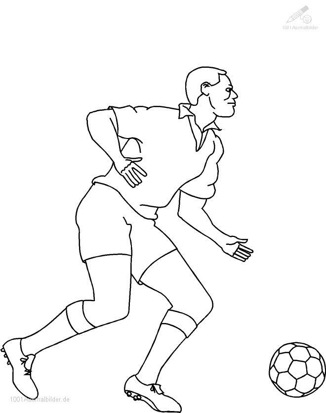 Ausmalbild: ausmalbild-fussball-1