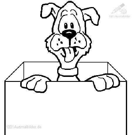 Ausmalbild: ausmalbild-hund-11