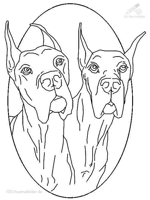 Ausmalbild Bulldogs