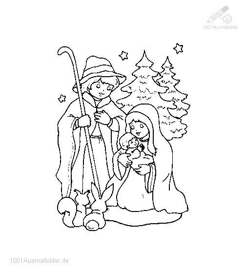 Ausmalbild: ausmalbild-jesus-maria