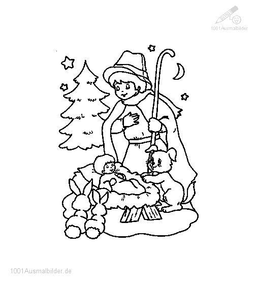 1001 Ausmalbilder Weihnachten Jesus Ausmalbild Jesus