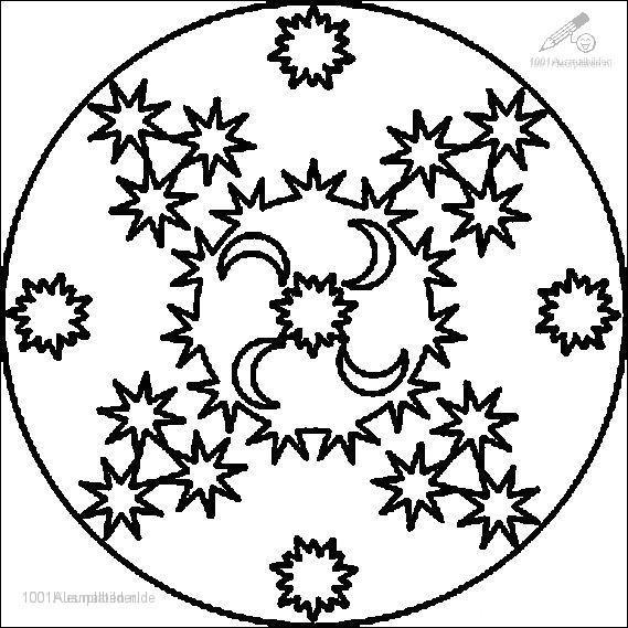 Ausmalbild: ausmalbild-mandala-16
