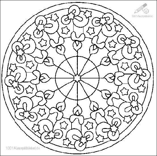 1001 Ausmalbilder Phantasie Mandala Mandala Ausmalbild