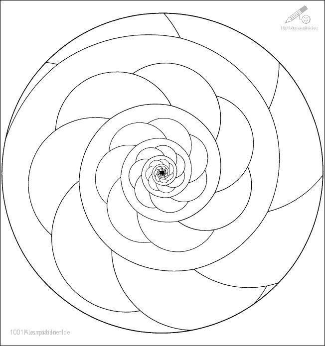 Ausmalbild: ausmalbild-mandala-5