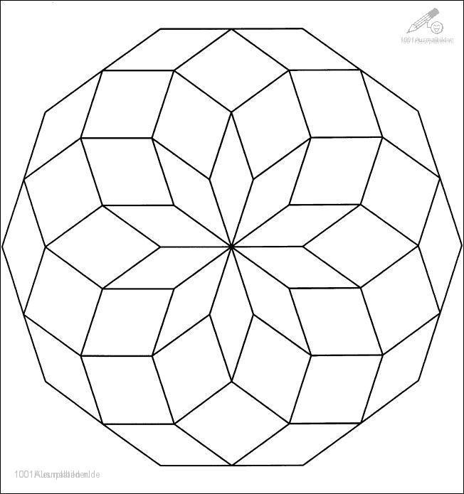Ausmalbild: ausmalbild-mandala-7