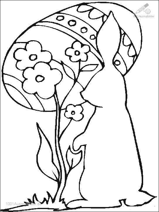 Ausmalbild: ausmalbild-osterhasen-5
