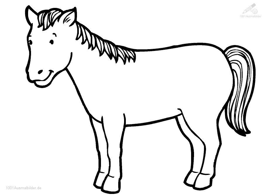 Ausmalbilder Pferde Leicht ~ Die Beste Idee Zum Ausmalen von Seiten