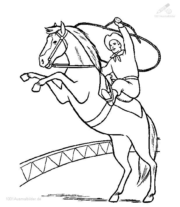 Ausmalbild: ausmalbild-pferd-9