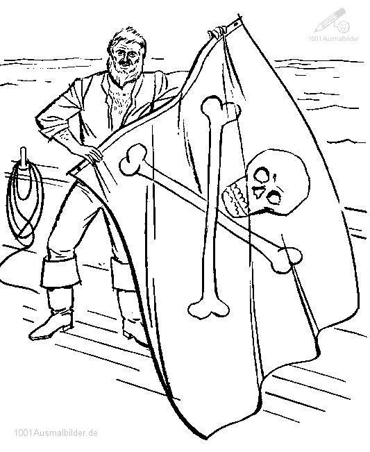 Ausmalbild: ausmalbild-pirate-14