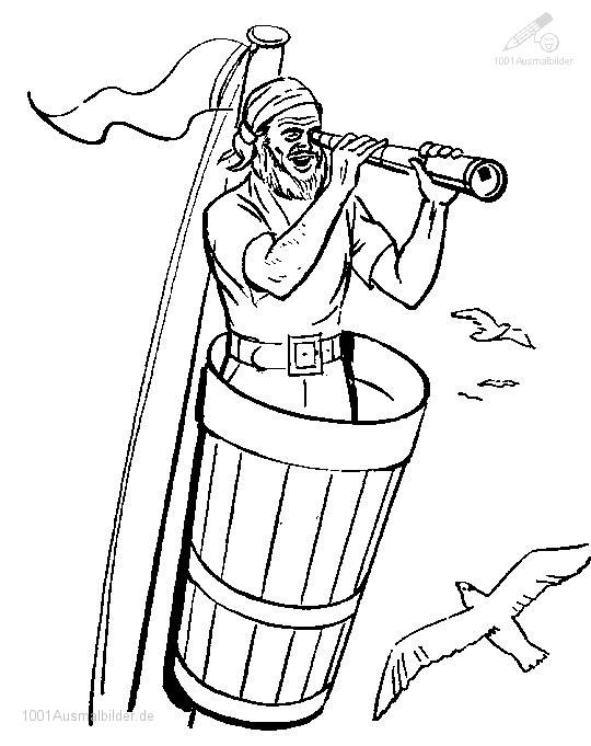 44 Kostenlose Piraten Malvorlagen Für Kinder