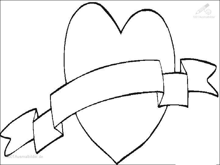 1001 Ausmalbilder Jahreszeit Valentinstag Ich Liebe Dich