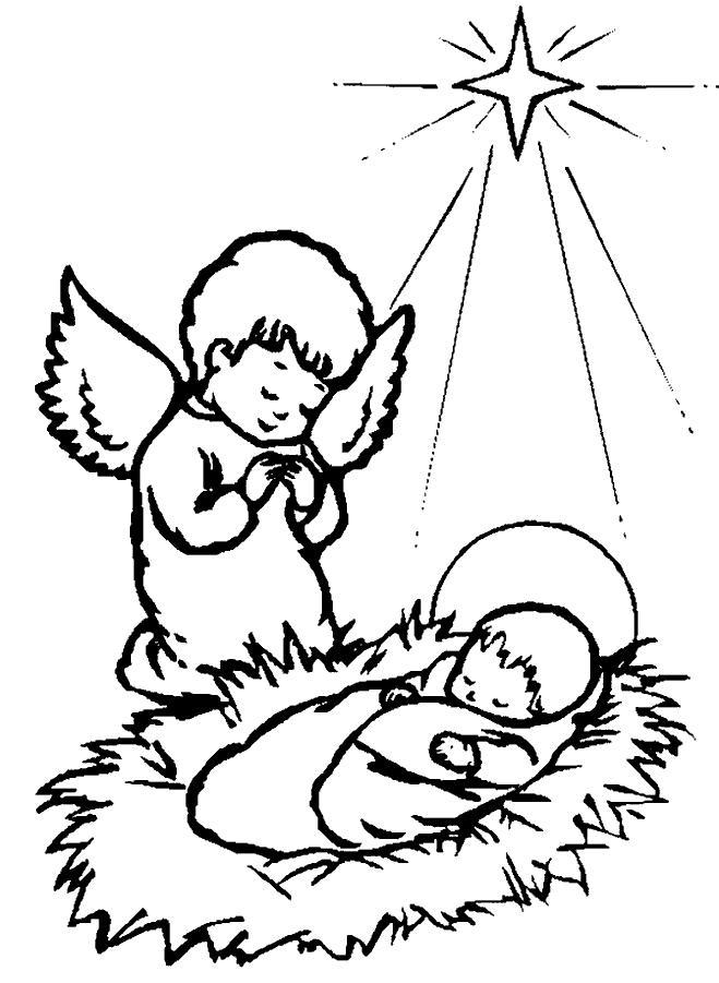 1001 Ausmalbilder Weihnachten Engel Ausmalbild Weihnachts Engel