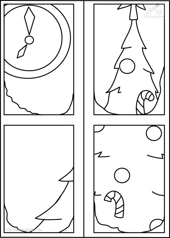 Ausmalbild: ausmalbild-weihnachtsbaum-1