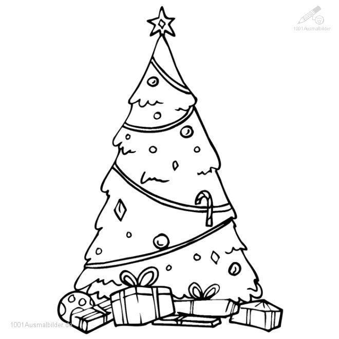 Ausmalbild: ausmalbild-weihnachtsbaum-19