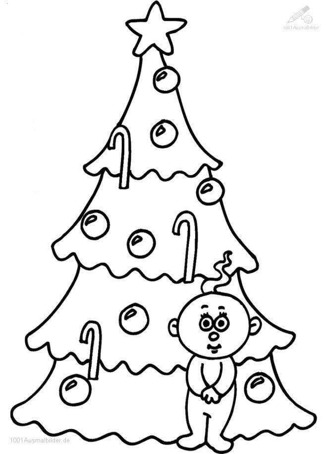 Ausmalbild: ausmalbild-weihnachtsbaum-20