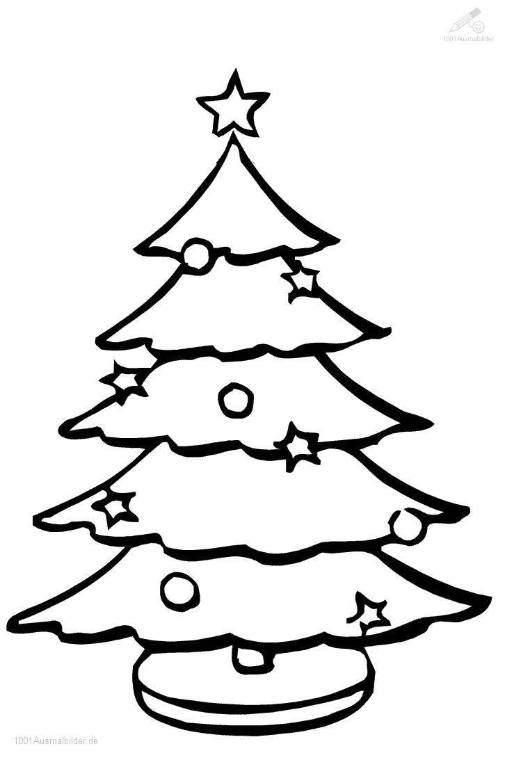 Ausmalbild: ausmalbild-weihnachtsbaum-25