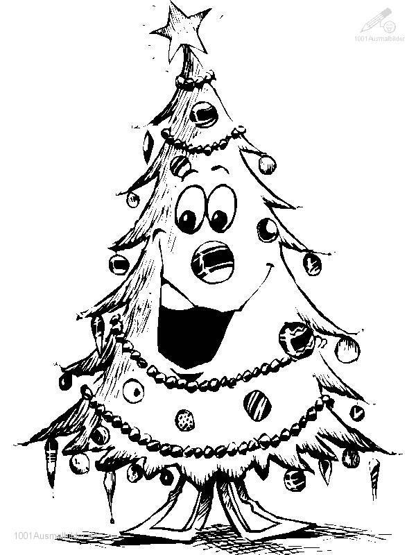 Ausmalbild: ausmalbild-weihnachtsbaum-34