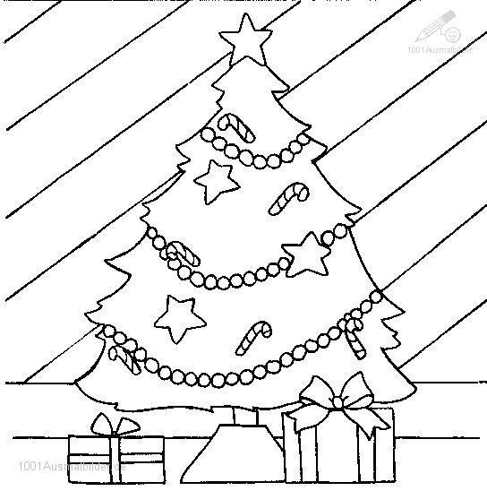 Ausmalbild: ausmalbild-weihnachtsbaum-35