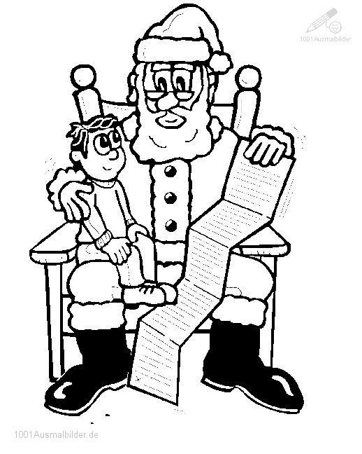 Ausmalbild: ausmalbild-weihnachtsmann-17