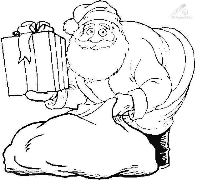 Ausmalbild: ausmalbild-weihnachtsmann-18