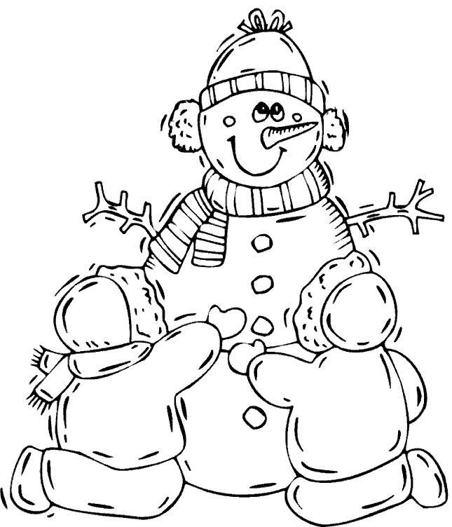 Ausmalbild winter schnee - Schneebilder kostenlos ...