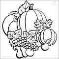 Herbst Ausmalbild >> Herbst Ausmalbild