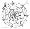 Ausmalbild Mandala>> Ausmalbild Mandala