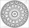 Mandala Ausmalbild >> Mandala Ausmalbild