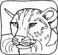 Ausmalbild Tiger>> Ausmalbild Tiger