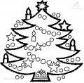 Ausmalbild Weihnachtsbaum >> Ausmalbild Weihnachtsbaum