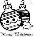 Ausmalbild Weihnachtskugel >> Ausmalbild Weihnachtskugel
